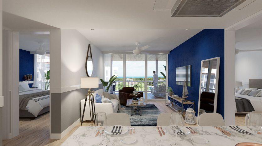 blue house marina residences puerto aventuras 3 bed ph 17
