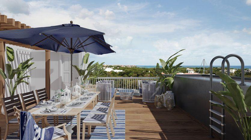 blue house marina residences puerto aventuras 3 bed ph 3