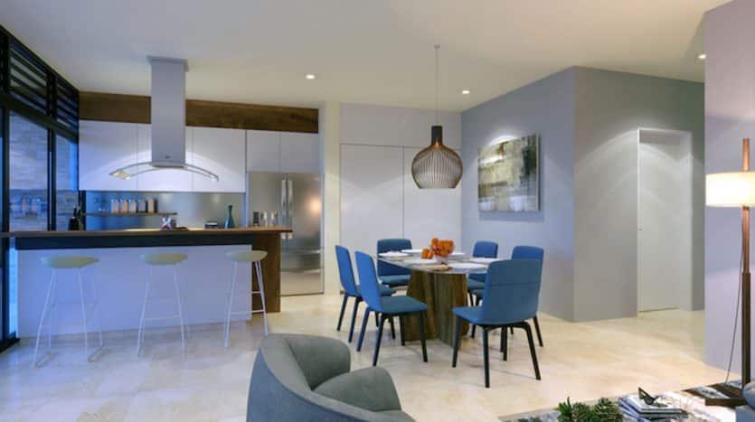 kaanha bahia akumal 3 bedroom penthouse 1