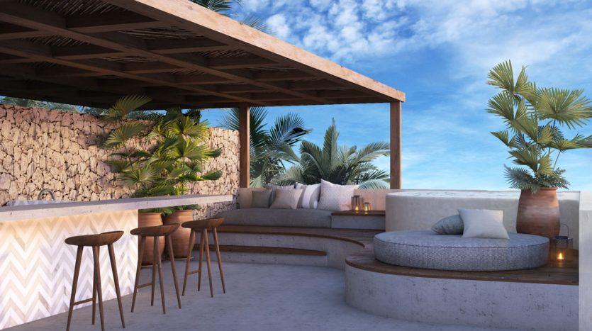 kasa residences tzalam tulum 2 bedroom penthouse 10