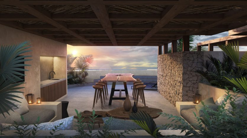 kasa residences tzalam tulum 2 bedroom penthouse 11