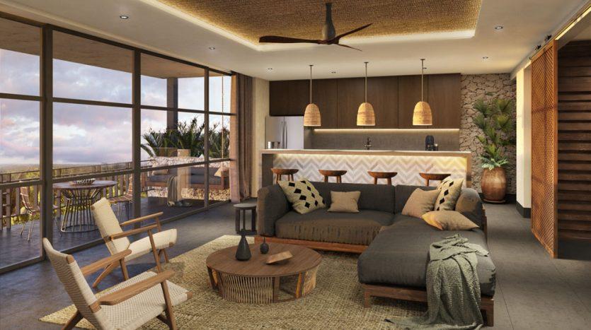 kasa residences tzalam tulum 2 bedroom penthouse 5