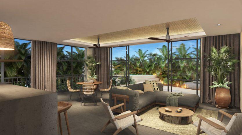 kasa residences tzalam tulum garden studio condo 4