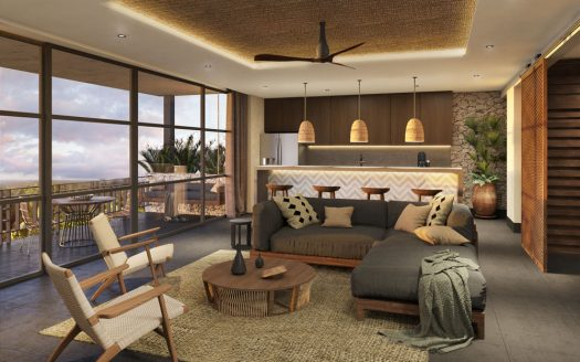 kasa residences tzalam tulum garden studio condo 5