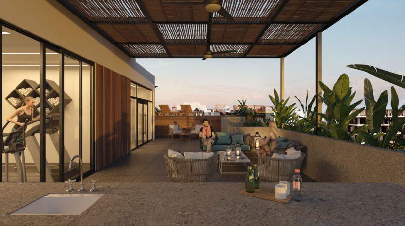 kumaru playa del carmen 2 bedroom condo 4