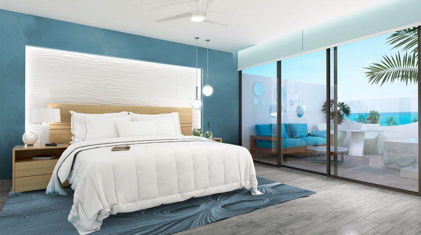 mare playa del carmen 1 bedroom penthouse 3