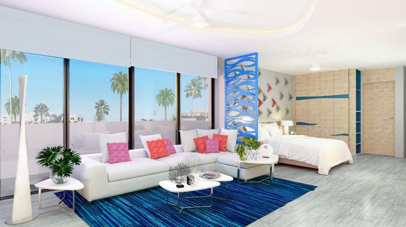 mare playa del carmen 1 bedroom penthouse 5