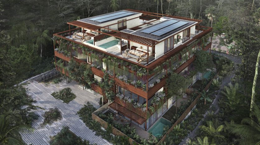 nuuch tulum 3 bedroom town house 13