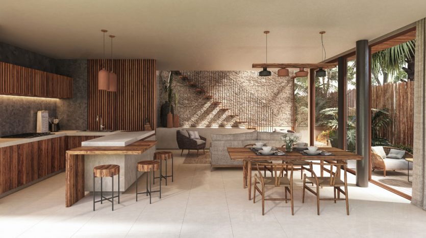 nuuch tulum 3 bedroom town house 7
