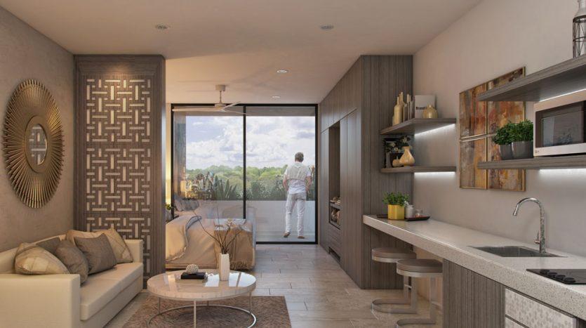 pura playa del carmen 2 bedroom penthouse 3