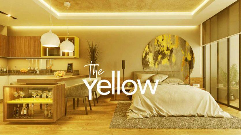 the yellow splash