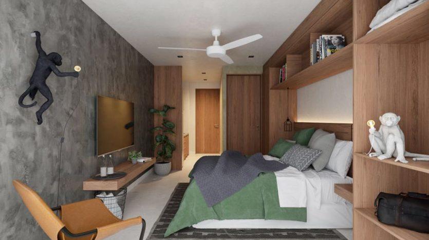 urban towers playa del carmen 1 bedroom condo 10