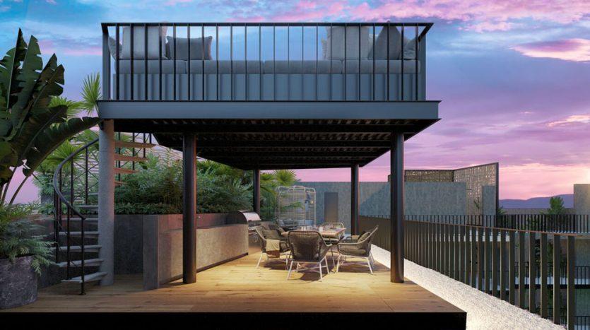 urban towers playa del carmen 1 bedroom condo 16