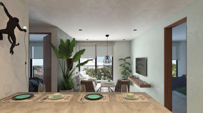 urban towers playa del carmen 1 bedroom condo 3