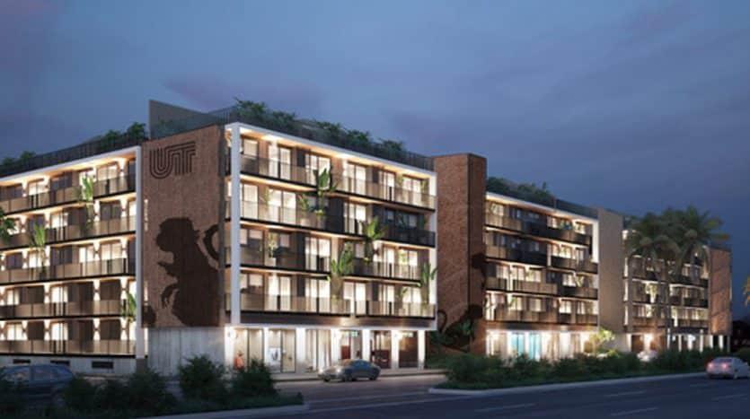 urban towers playa del carmen 1 bedroom condo 4