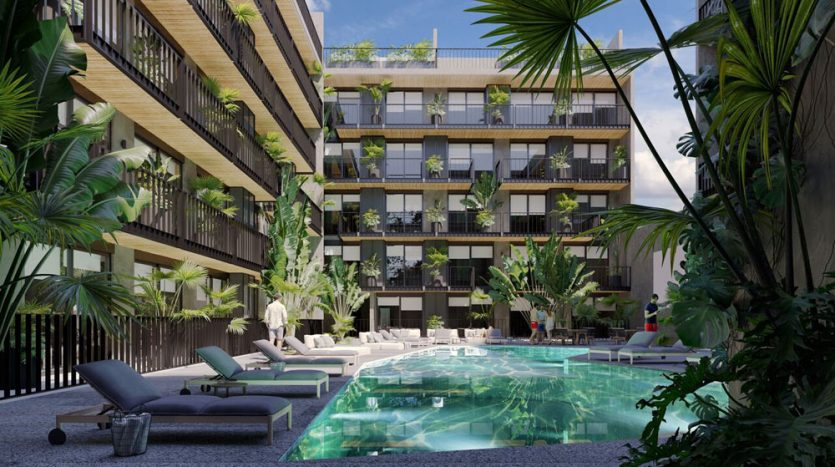 urban towers playa del carmen 1 bedroom penthouse 13
