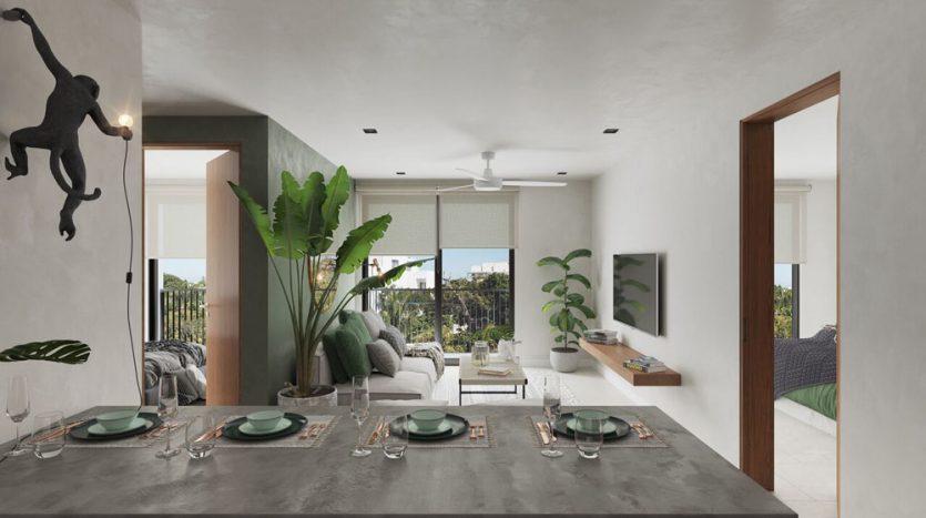 urban towers playa del carmen 2 bedroom penthouse 9