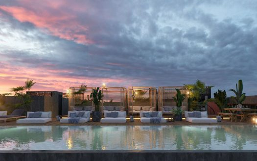 Urban Towers Playa del Carmen Studio Penthouse