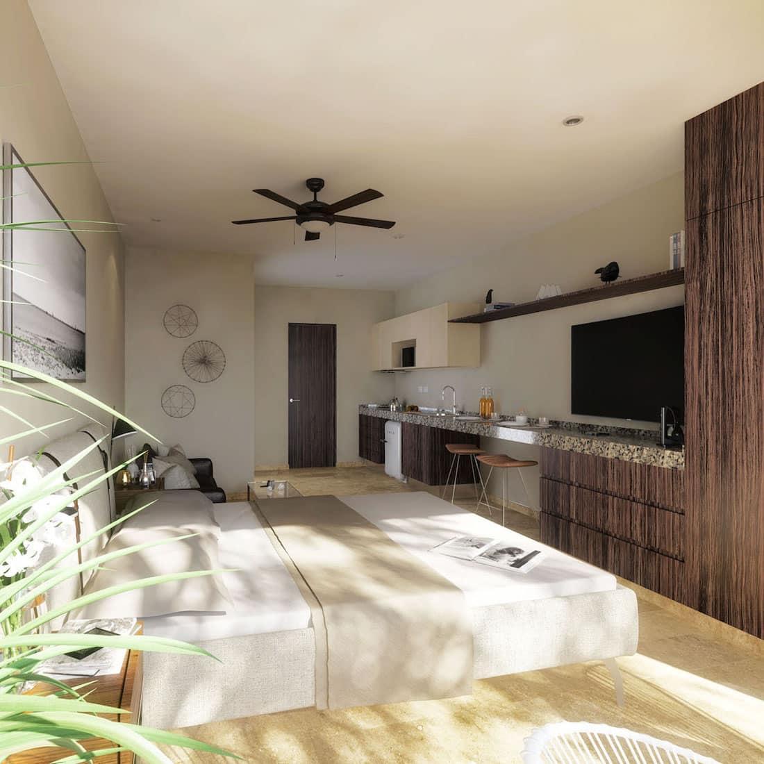 Veranto Playa Del Carmen 1 Bedroom Condo