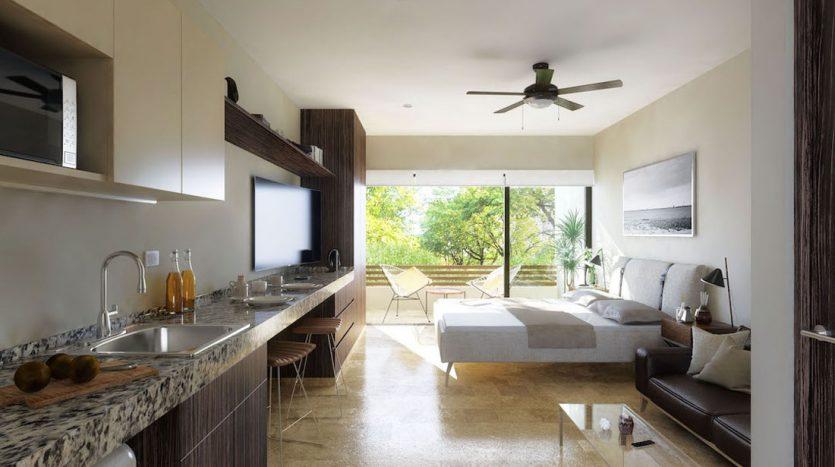 veranto playa del carmen 2 bedroom penthouse 6