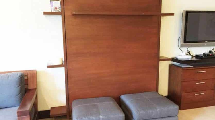 16 Murphy Bed in Closed Position