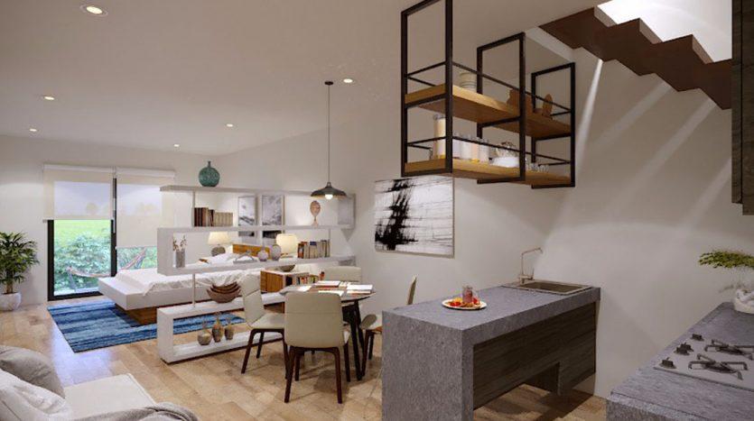 953 studio playa del carmen 1 bedroom penthouse 1