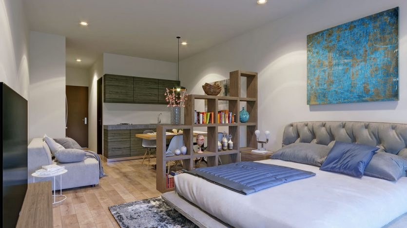 953 studio playa del carmen 1 bedroom penthouse 10