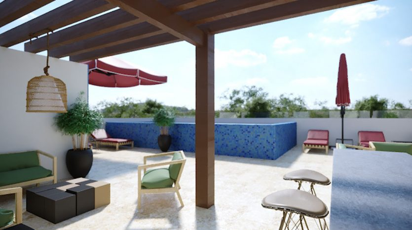 953 studio playa del carmen 1 bedroom penthouse 5