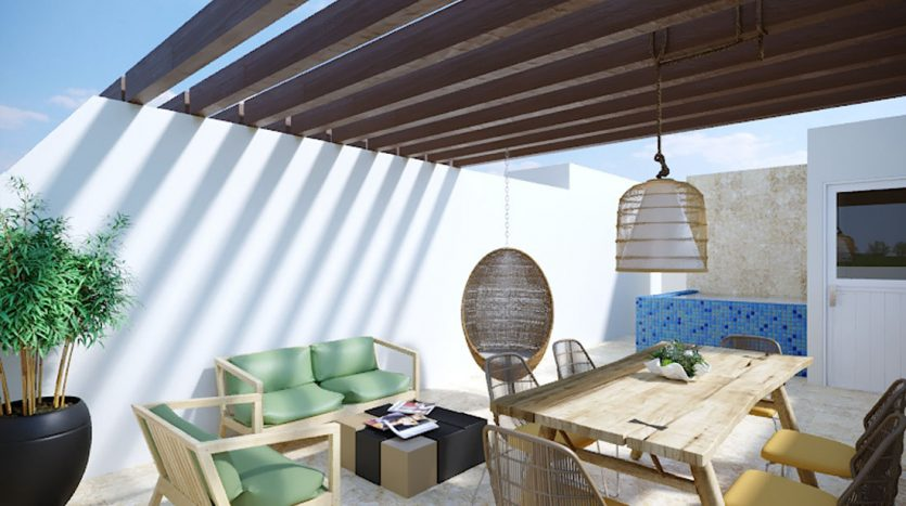 953 studio playa del carmen 1 bedroom penthouse 7