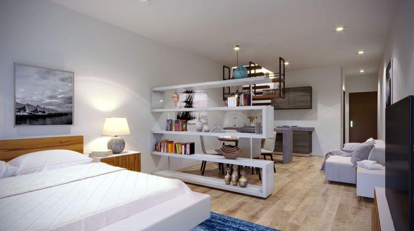 953 studio playa del carmen 1 bedroom penthouse 9