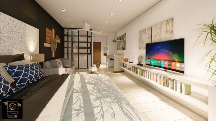 A Perfect Place Playa del Carmen studio Penthouse1