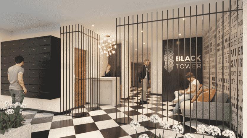 Black tower playa del carmen 2 bedroom condo5 1