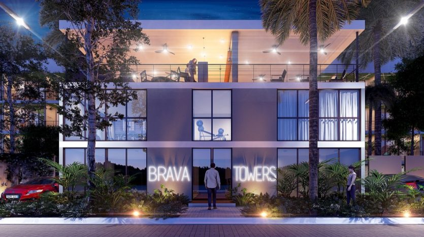 Brava towers 2 bedroom penthouse plus8