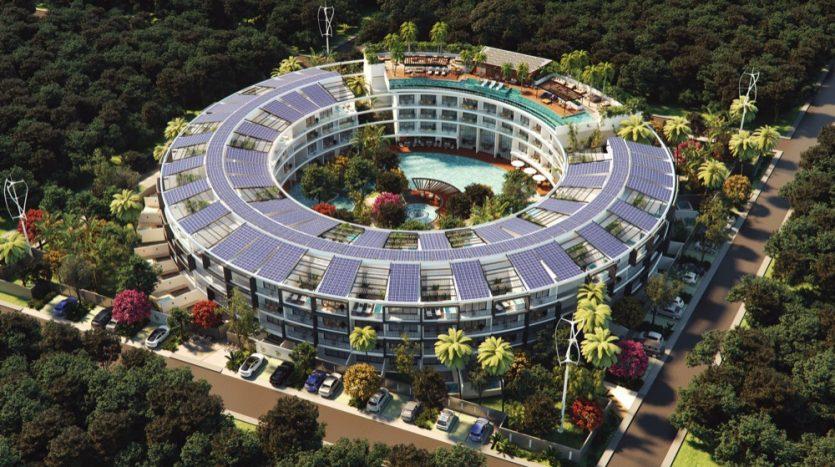 Central Park Lagunas Tulum studio penthouse5