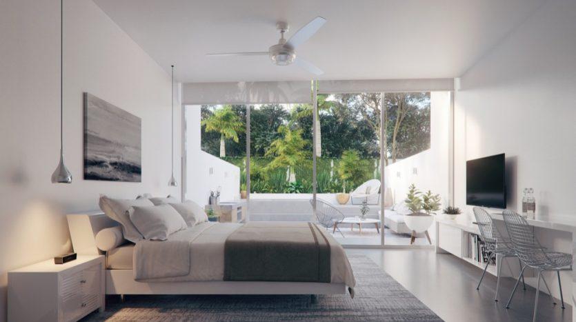 Central Park Lagunas Tulum studio penthouse6