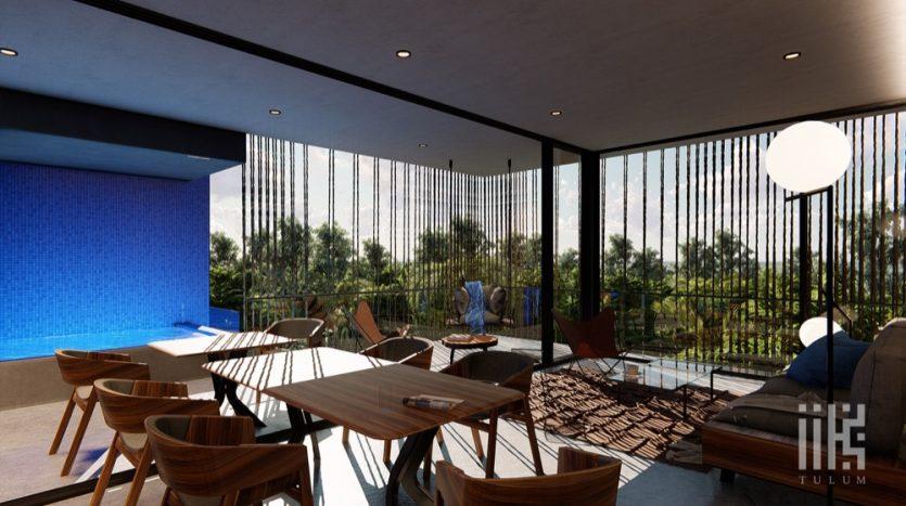 IIK Tulum 3 bedroom Penthouse3
