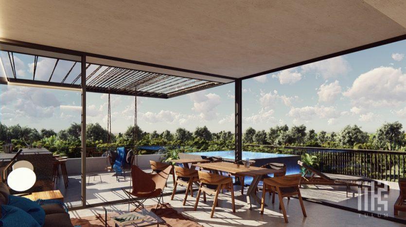 IIK Tulum 3 bedroom Penthouse30