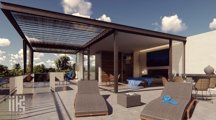 IIK Tulum 3 bedroom Penthouse32