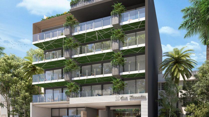 Menesse One Paralia Playa del Carmen 1 bedroom penthouse0