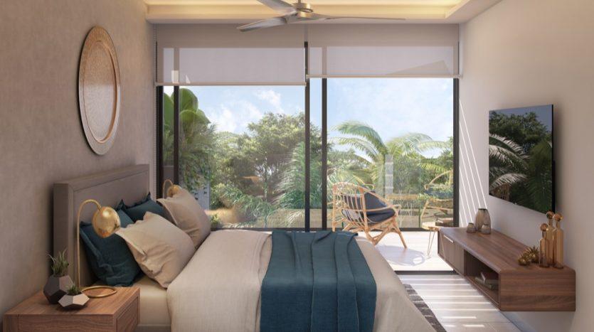 Menesse One Paralia Playa del Carmen 1 bedroom penthouse2
