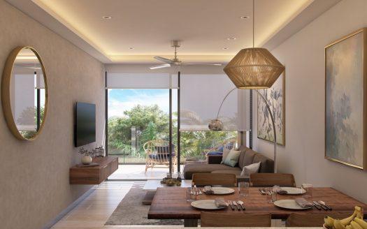 Menesse One Paralia Playa del Carmen 2 bedroom penthouse1