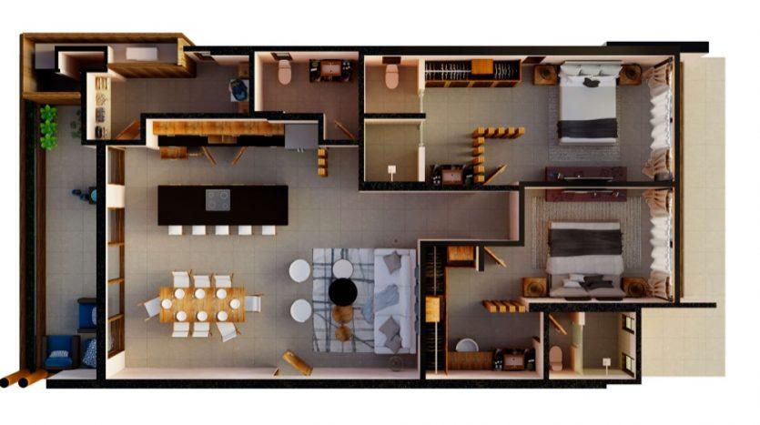 Mirak tulum 2 bedroom condo7