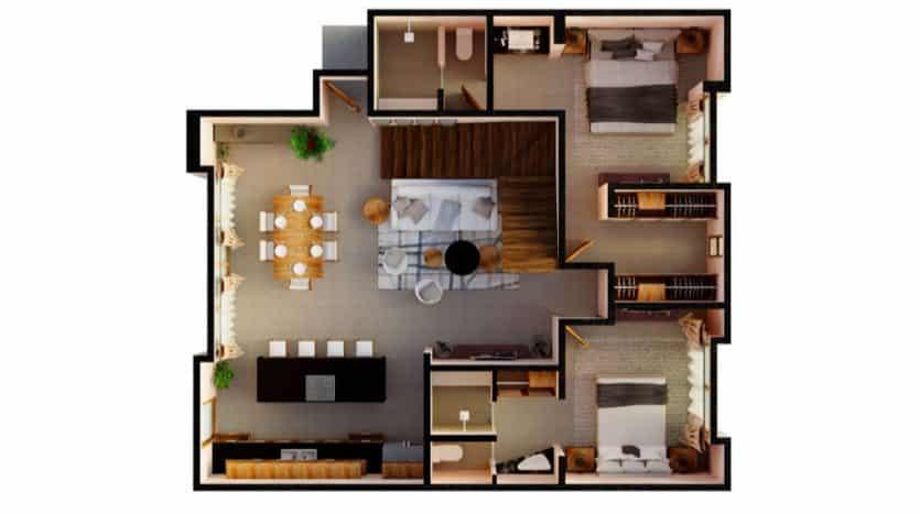Mirak tulum 2 bedroom penthouse10