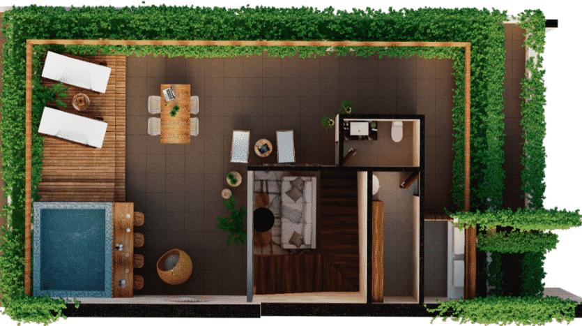 Mirak tulum 2 bedroom penthouse11