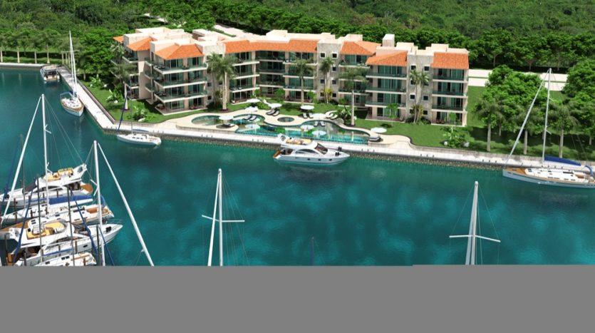 Quinta Aqua Puerto Aventuras 3 bedroom condo0