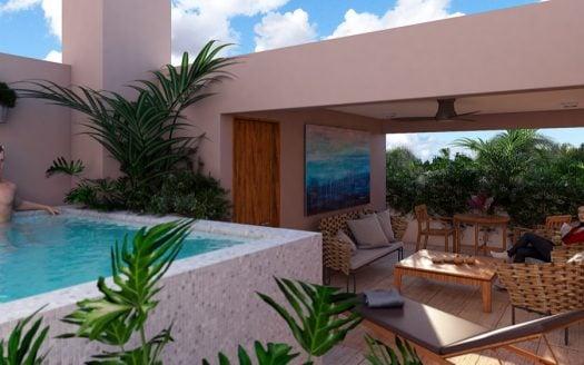 Viva Residences Tulum 2 Bedroom Penthouse Plus7
