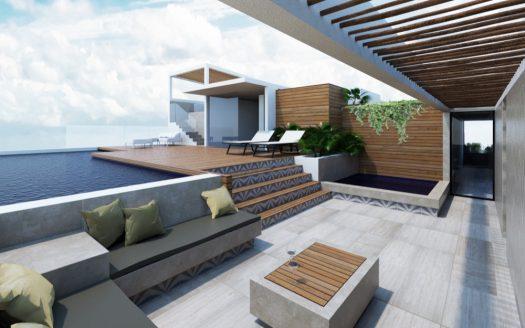Zilha 42 playa del carmen 2 bedroom penthouse2