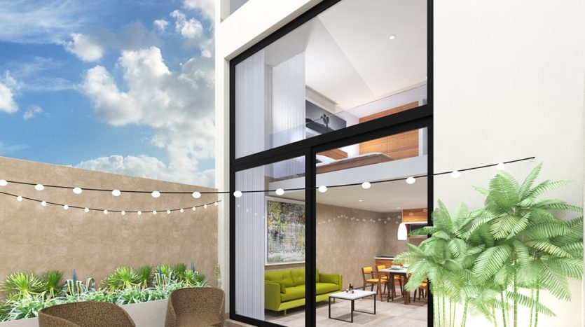 Zilha 42 playa del carmen 2 bedroom penthouse9
