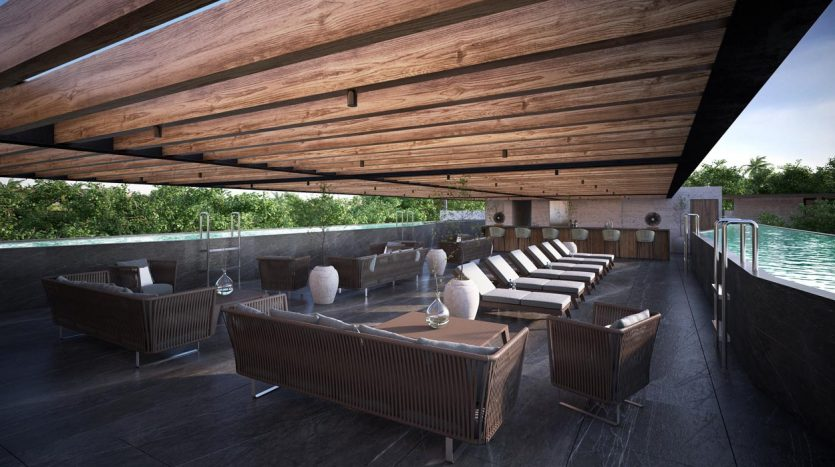 awa residences playacar phase 2 2 bedroom penthouse 2