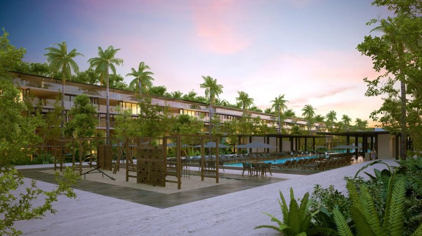 awa residences playacar phase 2 2 bedroom penthouse 5